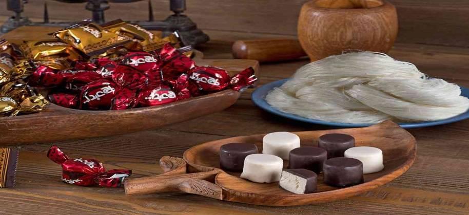 مرکز فروش شکلات پشمکی