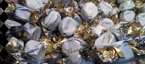 گز زعفرانی شکلاتی